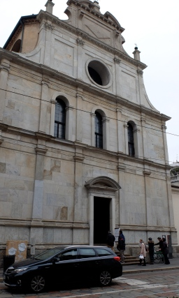 San Maurizio's facade