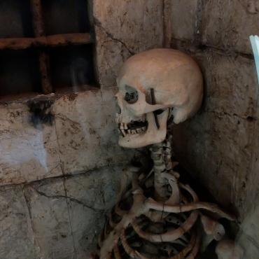 lo scheletro di Poggio Catino